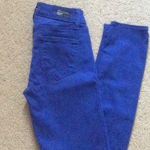 Paige Verdugo Legging Skinny Jeans Blue Sz 24